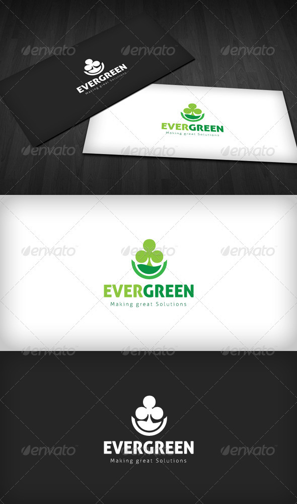 Evergreen Logo - Nature Logo Templates