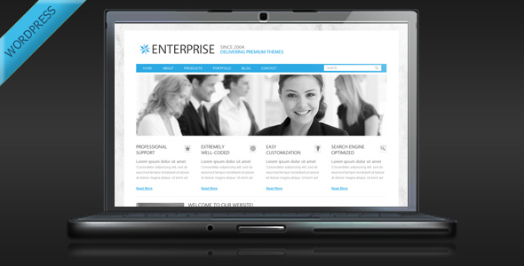Enterprise - Clean Business WordPress Theme