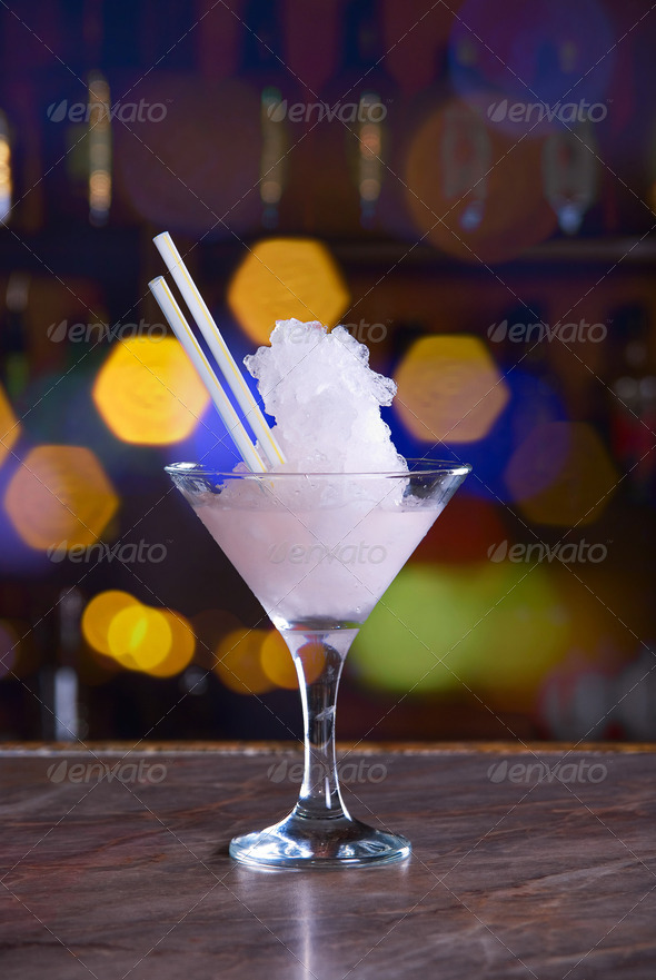 frozen cocktail - Stock Photo - Images