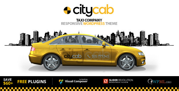 Citycab Taxi Company Amp Taxi Firm Wordpress Theme By