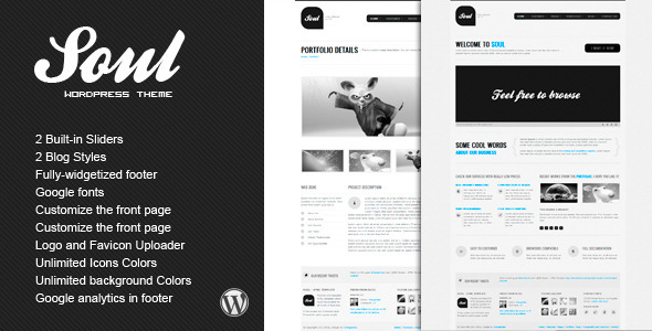 SOUL - Premium WordPress Theme - Creative WordPress