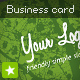 Eco Green business card - GraphicRiver Item for Sale