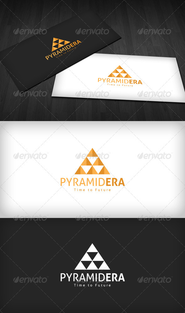 PyramidEra Logo - Vector Abstract