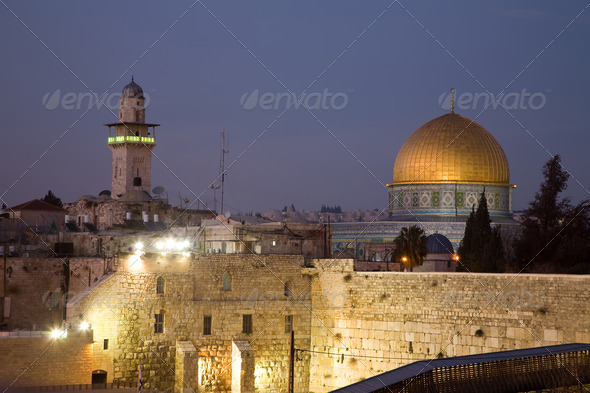 Stock Photo - PhotoDune Israel Dome Of The Rock in Jerusalem 1107820