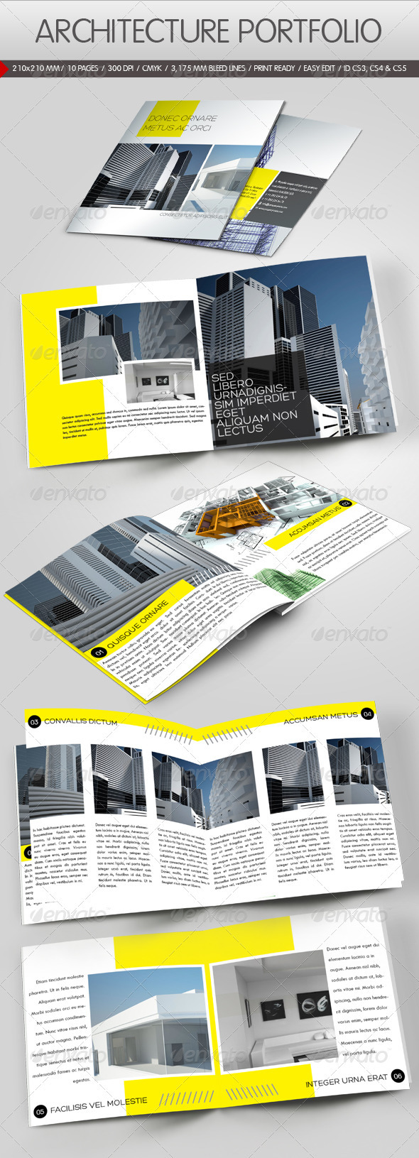 GraphicRiver Construction Company Brochure 670197