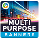 Multipurpose Banners-Graphicriver中文最全的素材分享平台