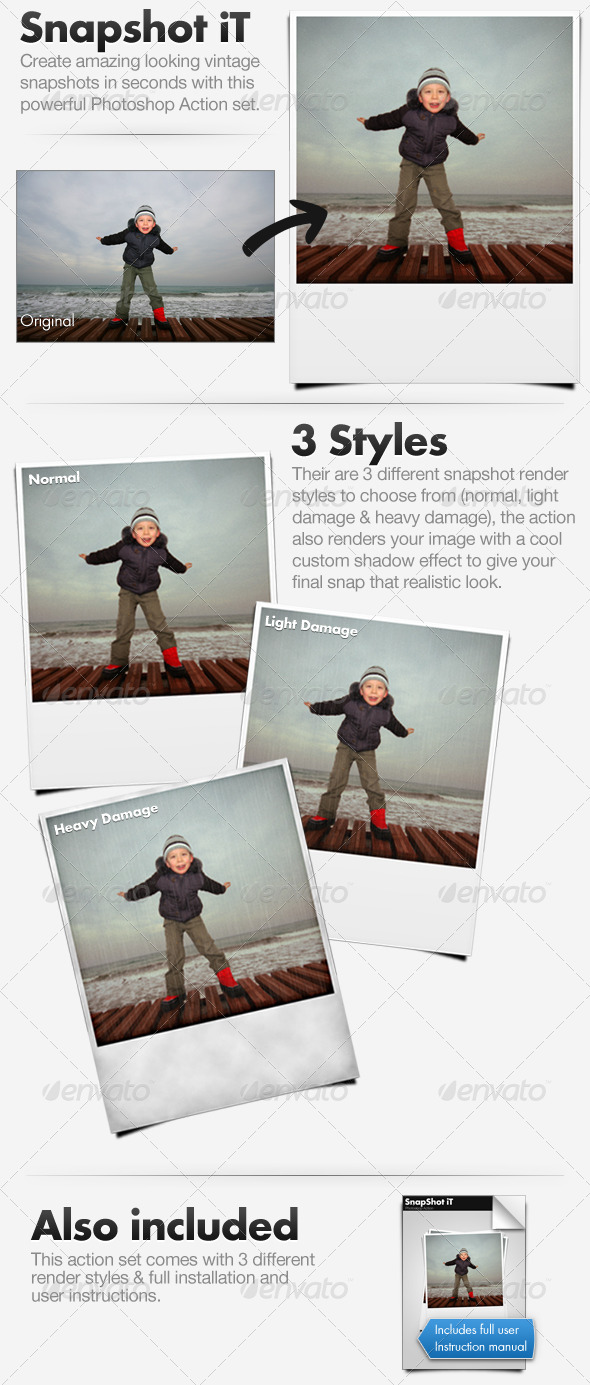 SnapShot iT - Vintage Photograph Action - Utilities Actions