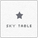 Sky Table - GraphicRiver Item for Sale