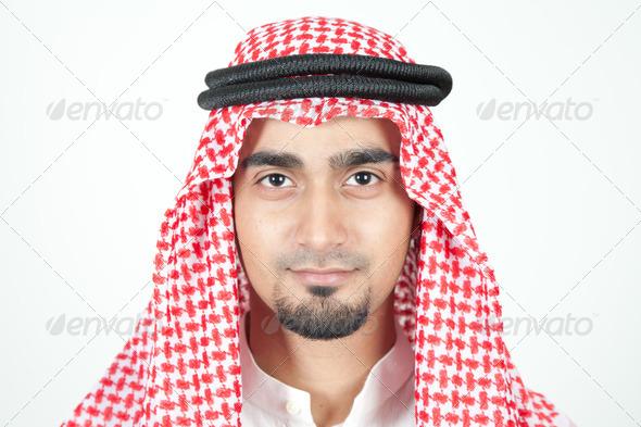 Stock Photo - PhotoDune Close up of an arab man 1113534
