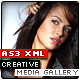 AS3 XML Creative Media Gallery - ActiveDen Item for Sale