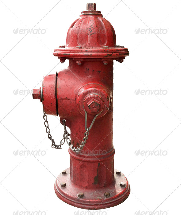 Fire Hydrant - Industrial & Science Isolated Objects