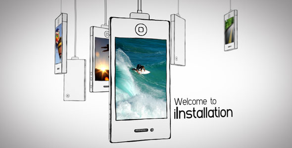 After Effects Project - VideoHive iInstallation 138001