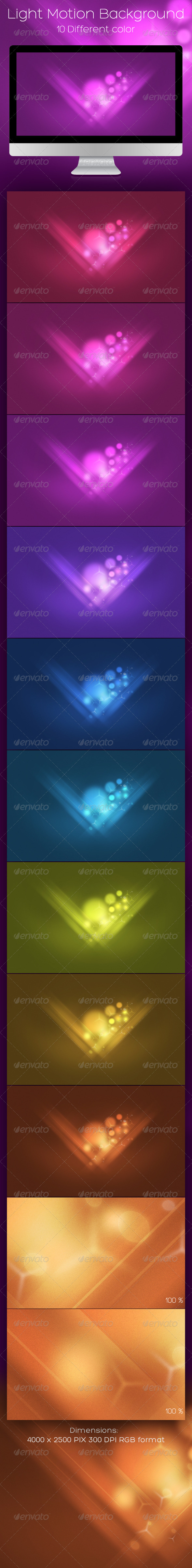 GraphicRiver Light Motion Background 943876