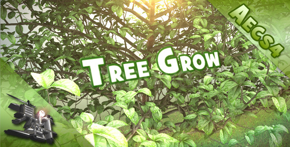 After Effects Project - VideoHive Tree Grow Openers 1121457
