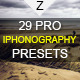 29 Pro iPhonography Presets-Graphicriver中文最全的素材分享平台