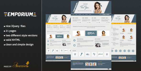 Emporium - Creative and Elegant Template
