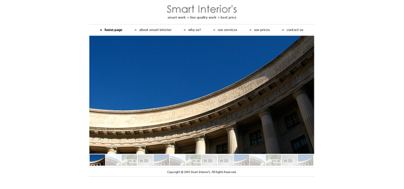 Smart Interiors - Creative Site Templates
