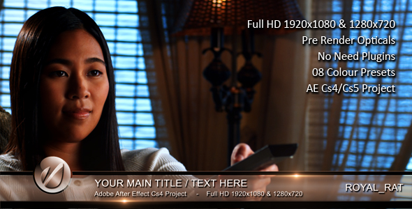 After Effects Project - VideoHive Lower Third Shine 2 138893