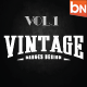 Vintage Badges Vol.1-Graphicriver中文最全的素材分享平台