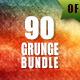 90 Grunge Backgrounds Bundl-Graphicriver中文最全的素材分享平台