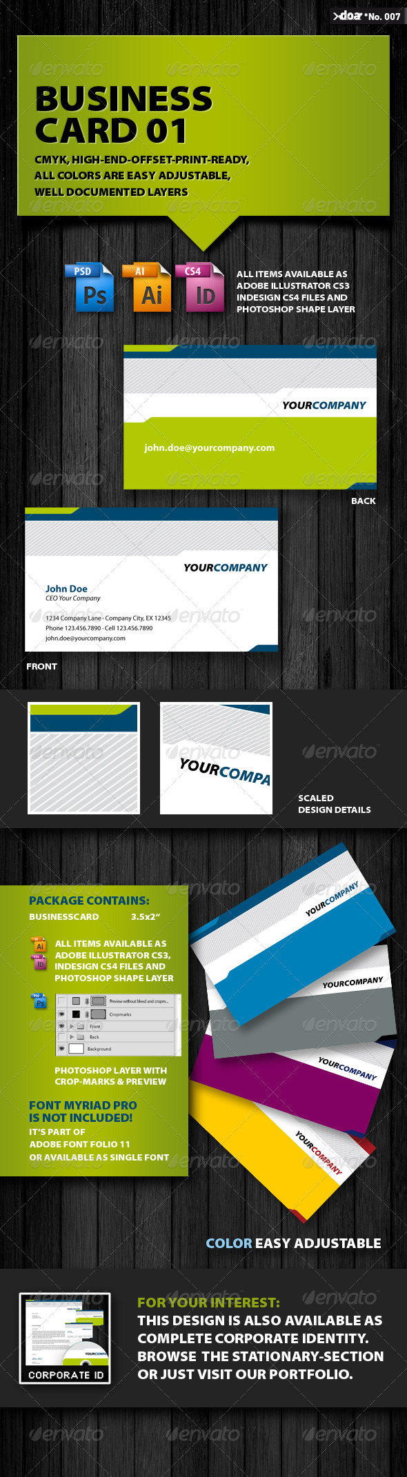 Business Card 01 - Creative Business Cards
