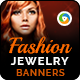 Fashion Jewelry Banners-Graphicriver中文最全的素材分享平台