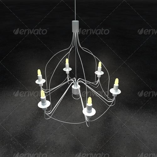 3DOcean chandelier IKEA 139113
