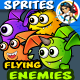 8 Flying Monster Enemies Ch-Graphicriver中文最全的素材分享平台