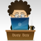 Busy boy  - GraphicRiver Item for Sale