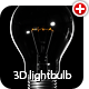 3D classic lightbulb - 3DOcean Item for Sale