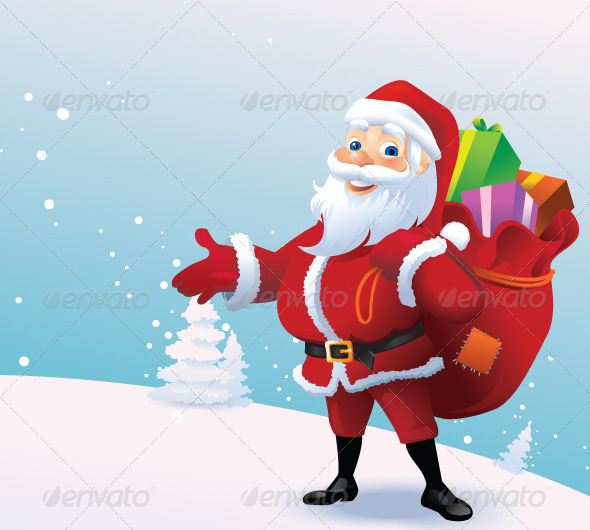 GraphicRiver Happy santa 139558