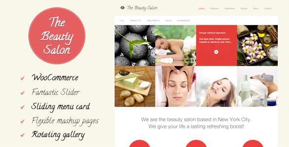 The Beauty Salon by redfactory | ThemeForest