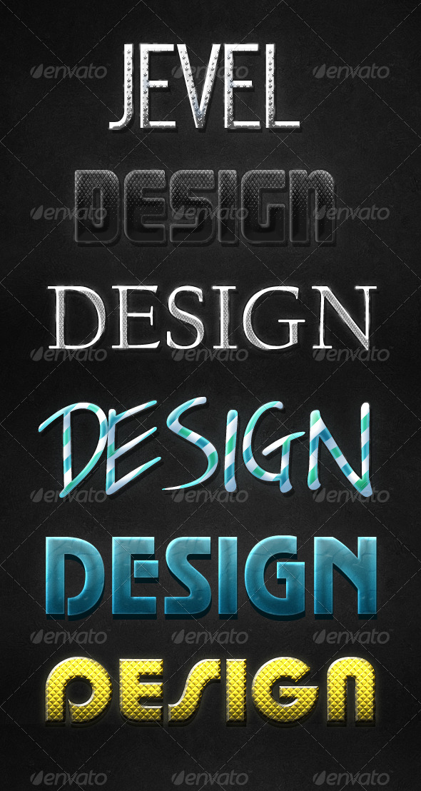GraphicRiver Text Styles v.1 139594