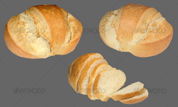 Bread - Food &amp; Drink Isolated Objects