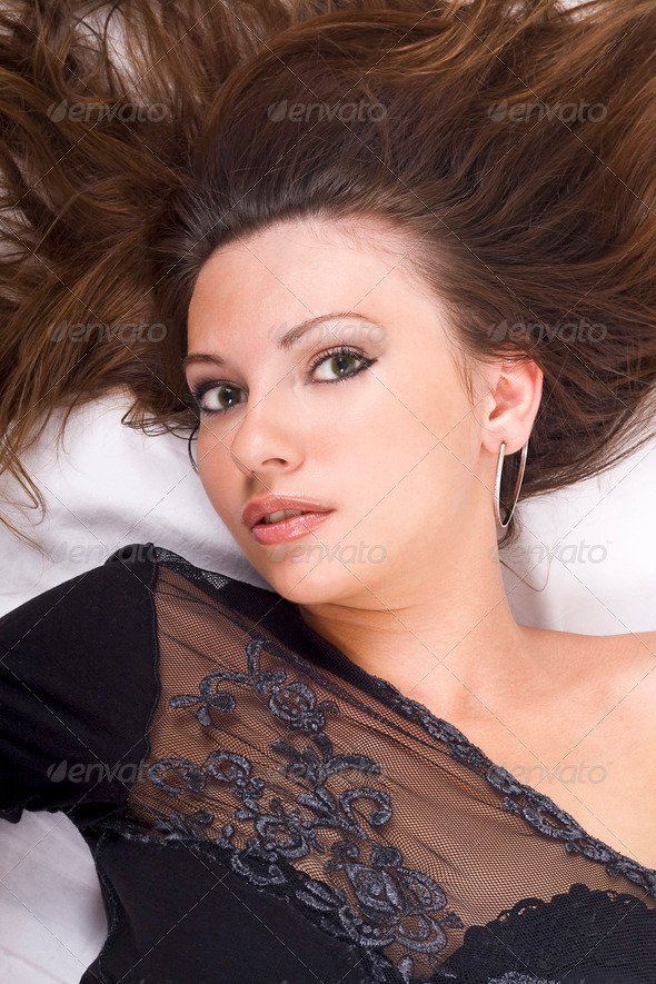 portrait of the young beauty woman 1 - Stock Photo - Images