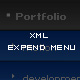 Dynamic xml expend menu with easing - ActiveDen Item for Sale