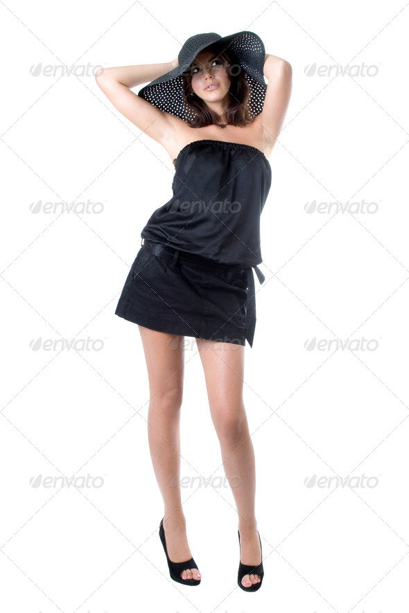 Pretty young woman - Stock Photo - Images