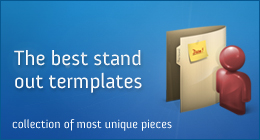 Awesome Stand - out templates