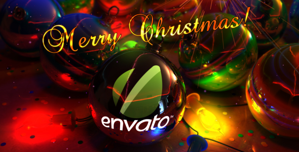 [VideoHive 140812] Christmas Balls Greeting | After Effects Project