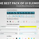 The Best Pack of UI Elements - GraphicRiver Item for Sale