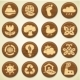 Wooden Environment Icon Collection - GraphicRiver Item for Sale