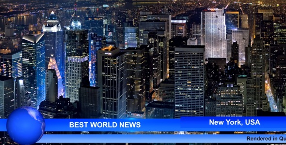 After Effects Project - VideoHive Best World News 141281