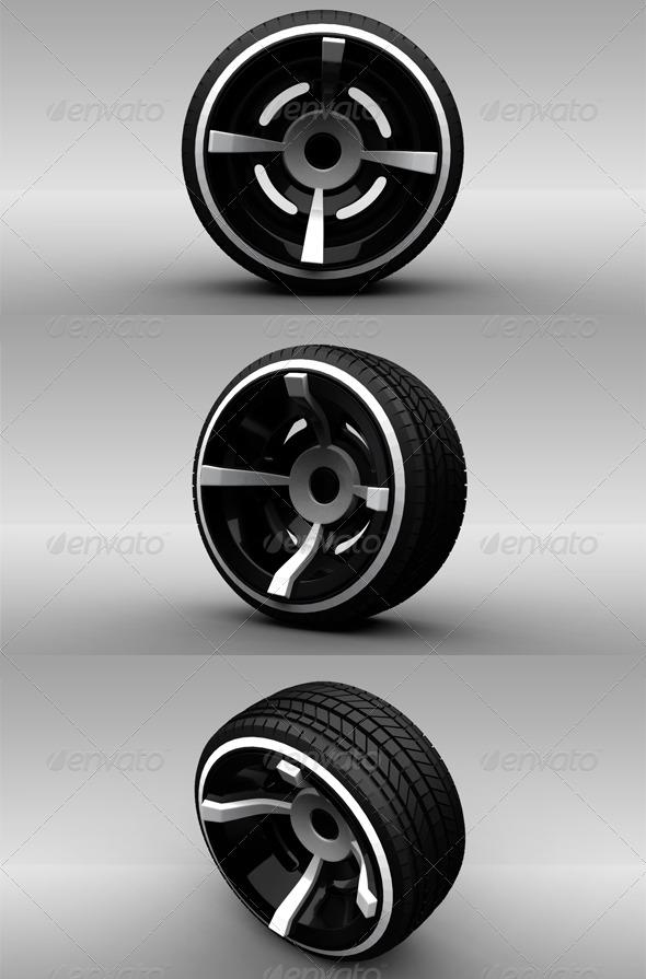 3DOcean Wheel 3 141571
