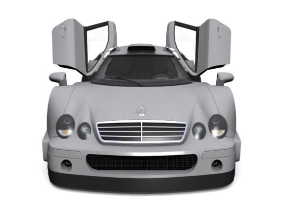 3DOcean Mercedes-Benz CLK-GTR 1151872