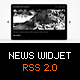 News Widget - RSS 2.0 - ActiveDen Item for Sale
