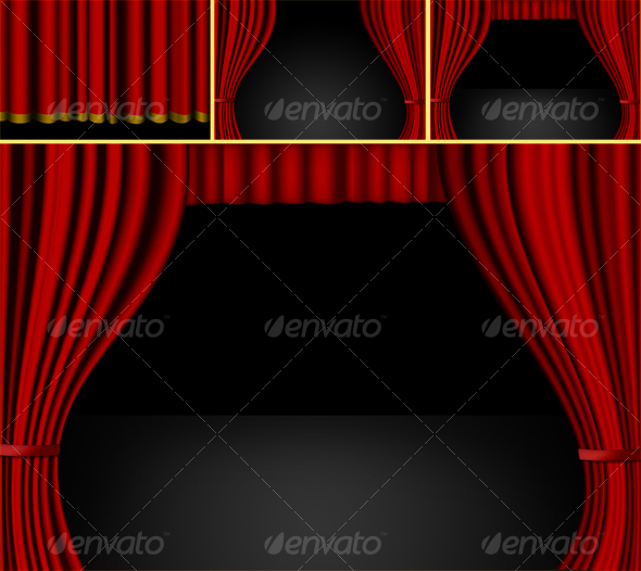 Curtains - Artistic Photo Templates