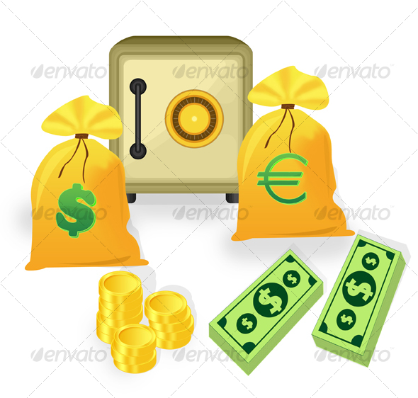 GraphicRiver Premium Money Icons 32377