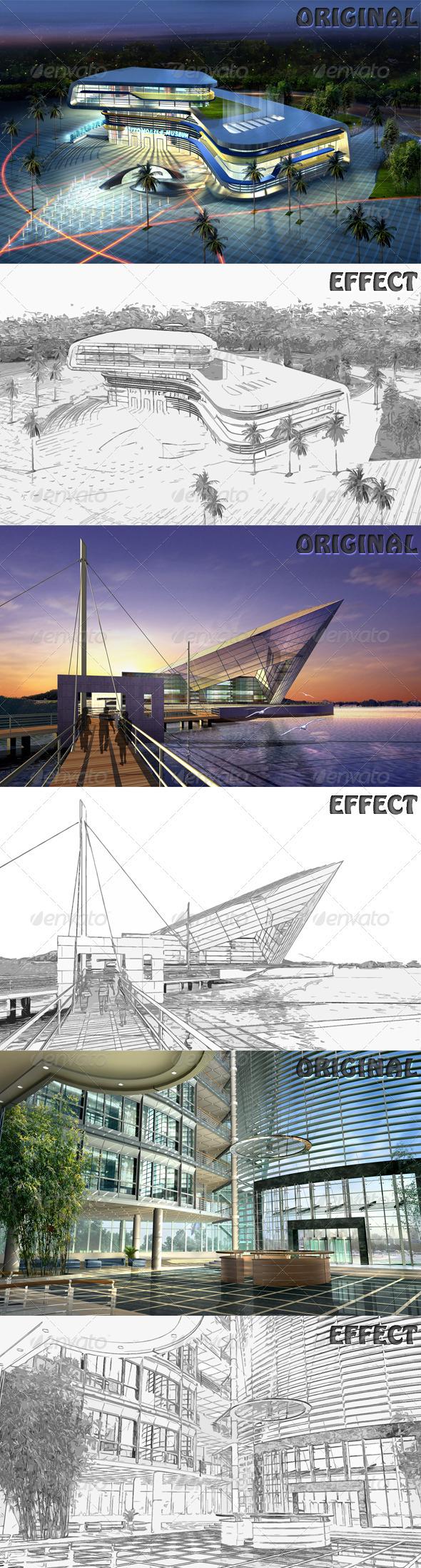 GraphicRiver Sketch Effect 1153360