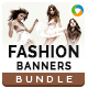 Fashion Banners Bundle - 4 -Graphicriver中文最全的素材分享平台