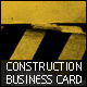 Construction Business Cards - GraphicRiver Item for Sale